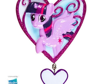 My Little Pony Twilight Heart Christmas Ornament