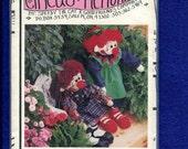 Circus Memories Lucy Ellen Clown Rag Doll UNCUT