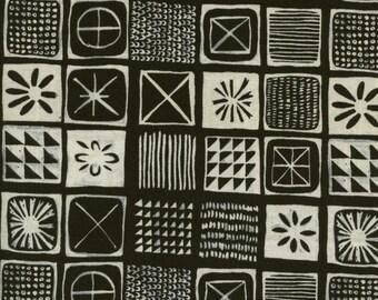 Bluebird - Tiles - Alexia Abegg for Cotton + Steel - 5040-1 - 1/2 yd