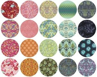 Tula Pink - #TBTula Fat Quarter Bundle - Tula Pink for Free Spirit - FB1FQTP.TBT16 - 20 Prints