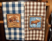 Bears and Wildlife Tea Towel Set