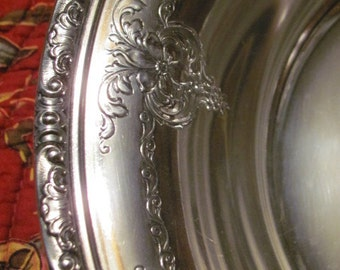 Vintage Sterling Silver Serving Bowl~Towle~Old Master~52510~1940's~