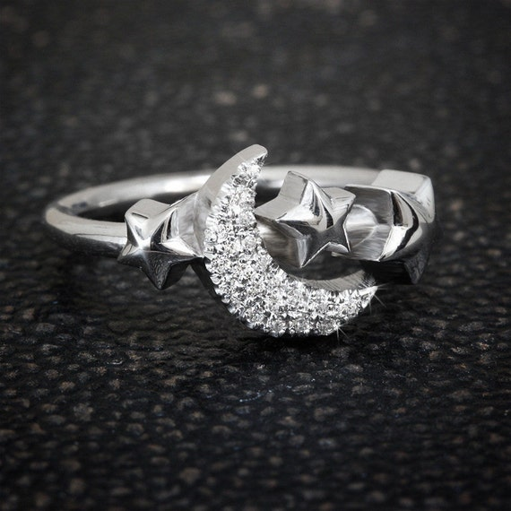 My Moon And Star Ring Unique Engagement Ring By. Gigantic Engagement Rings. Makeup Engagement Rings. Wrapped Rings. Crushed Stone Inlay Wedding Rings. Crochet Wedding Rings. Nidhi Rings. Modern Gold Engagement Rings. Asscher Cut Wedding Rings