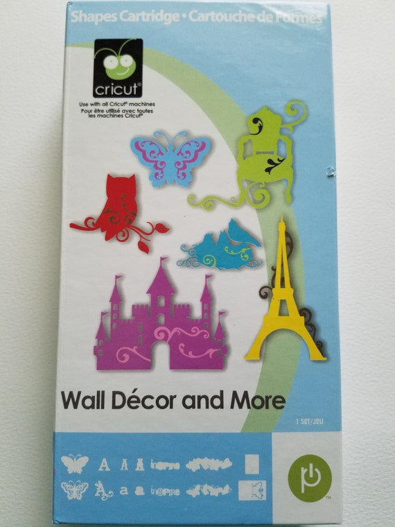 Wall Decor And More Cricut : Cricut? shapes cartridge wall d?cor by
