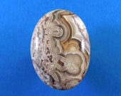 Crazylace agate cabochon - ring size