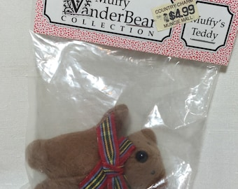 Vintage Muffy Vanderbear Teddy Still In Package