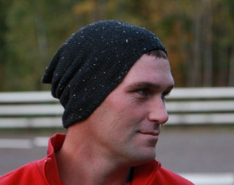 Mens Slouch Hat - Slouchy Beanie - Beanie Hats for Men - Winter Hats - Mens Slouch Hat - Beanie Hat - Floppy Hat - Beanies - Custom Hats