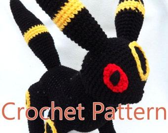 Umbreon Crochet Pattern