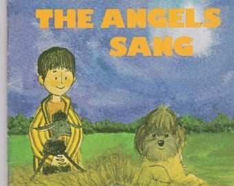 ON SALE The Night the Angels Sang - Religious Book for Children  -  Arch Book -  Vintage 1970s