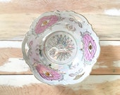 Vintage Hand Painted German Berry Bowl