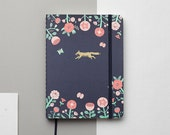 SALES Flower And Fox Emblem 2017 Gold Foil Personalized Planner