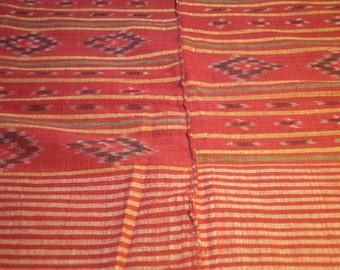 Vintage Ikat fabric