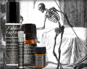 GRIM REAPER Cologne: Forest Earth, Fresh Grass, Black Musk, Damp Soil, Black Pepper, Vegan Solid Perfume, Ships Out in 4-7 Days