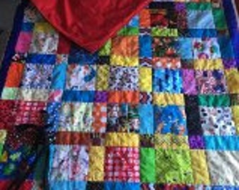 I Spy Child Sleeping Bag Machine Quilted