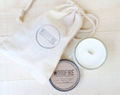 PICK 2 Wood Wick Mason Jar Soy Candle Perfect Gift 4oz