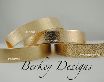 Keepsake Brass or Copper Godmothers are Special because they are Chosen Hand Stamped Secret Message Bracelet