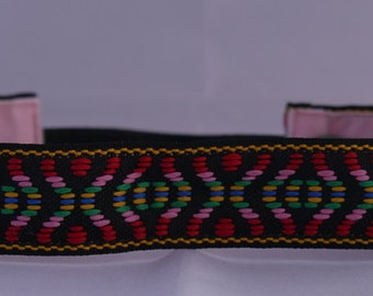 """No Slip Headband 7/8"""" Jacquard Beauty is in the Eye of the Beholder"""