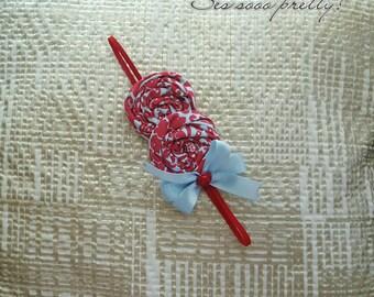 Rosettes headband