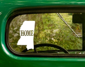 Mississippi Decal, Car Decal, State Sticker, Laptop Sticker, Mississippi Sticker, Bumper sticker, Vinyl Decal, Car Stickers