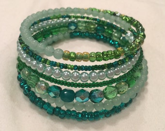 Green wire wrap