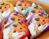 Hamster Sachet / Ornament / Choose Between 4 Colors and 2 Scents / Lavender or Balsam Fir
