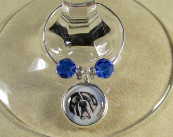 Saint Bernard Wine Charms