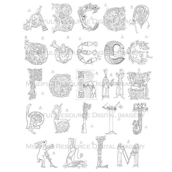 Anello con lettera offerte e risparmia su ondausu for Stampabili da colorare
