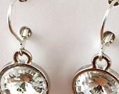 Swarovski Clear Rounds Earrings