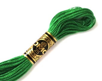 DMC 701 Floss - 6 Strand Embroidery Floss - Green