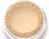 "Mineral Wonder Powder Foundation - ""Creme"" - light shade with a pink undertone - vegan makeup"