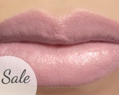 "25% OFF - Vegan Lipstick - ""Beloved"" (light pink beige nude lipstick) natural lip tint, balm, lip colour mineral lipstick"