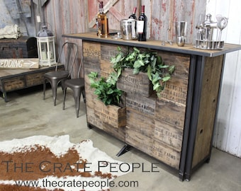 The Crate Bar - Custom Made Bar Furniture - weddings, corporate events, For the Home