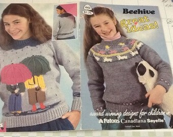BEEHIVE GREAT IDEAS - Knitting Patterns for Children Only