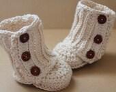 Baby Girl, Crochet Baby Boots, Baby Girl Booties, Baby Uggs