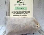 Lavender Herbal Dryer Sheet | Chemical Free | All Natural | Eco Friendly | Vegan