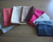 DESTASH Quality Wool Felt Fabric Pieces 9 Colors Assorted Sizes 1 1/2 pounds 1.5 lb NICE
