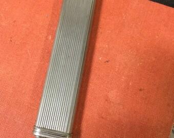 Deco Silver & Enamel Three Colour Pencil
