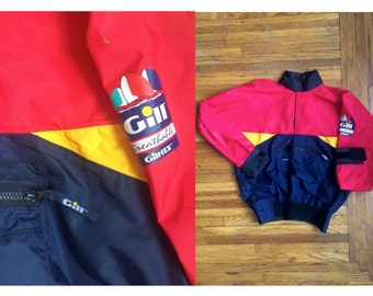 Rare 80s Colorful Douglas Gill Sailing Windbreaker Colorful Streetwear