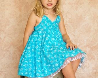 NEW Bella Babydoll dress PDF Pattern Sizes 2 3 4 5 6 7 8