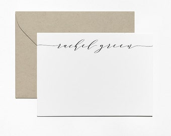Personalized Calligraphy Notes