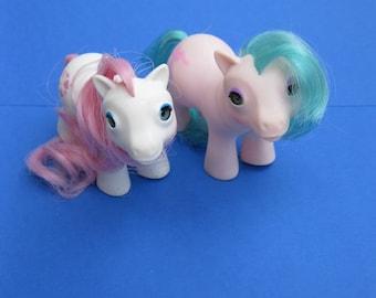 vintage my little pony baby sea pony sea star mlp 1980s 80s