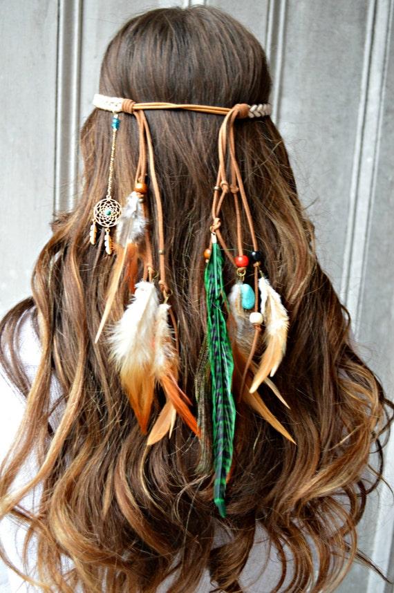 Headband Feather Dream Catcher Hair With Jewelry Dreamcatcher