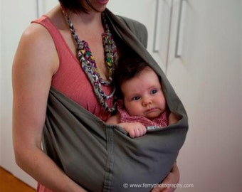Linen Sling Pouch Baby Carrier