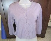 Purple Vintage Cardigan