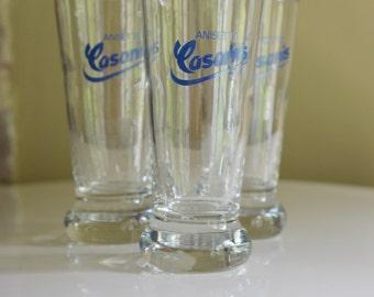 6 verres anisette Casanis