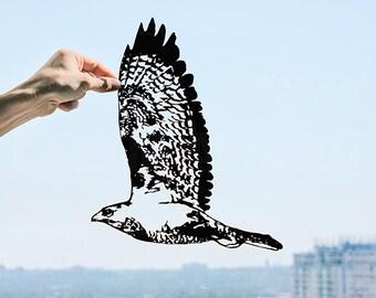 Nature Lover Gift, Bird Art, Bird Lover Gift, Black and White Wall Art, Scandinavian Art, Spirit Animal, Minimalist Art, Modern Wall Art