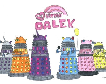 My Little Daleks