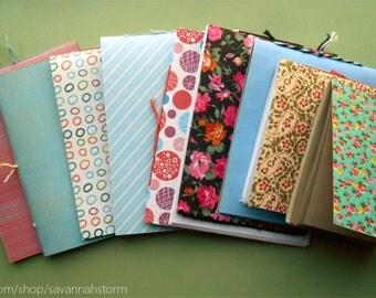 Mystery handmade notebook - chosen at random