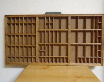 Vintage Hamilton Printer's Tray / 89 Slots / Excellent Condition!
