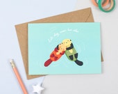 Cuddly Otters Card